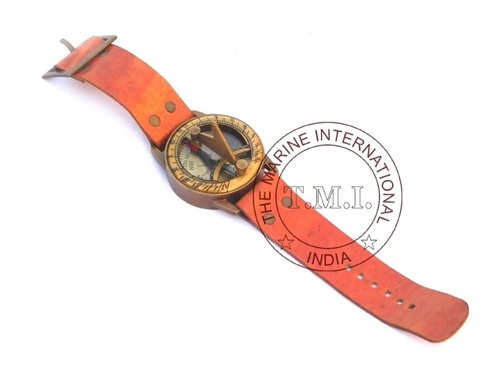 Nautical Wrist Sundial Compass