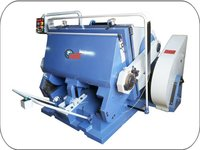 Heavy Duty Flat Bed Die Punching Machine