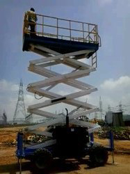 High Rising Platform Scissor Lift