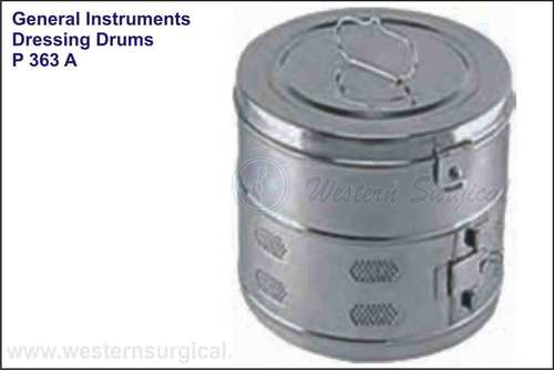 Dressing Drums Seamless Stainless Steel