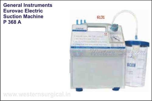 Eurovac Electric Suction Machine