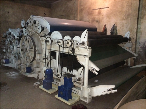 Double Doffer Carding Machine