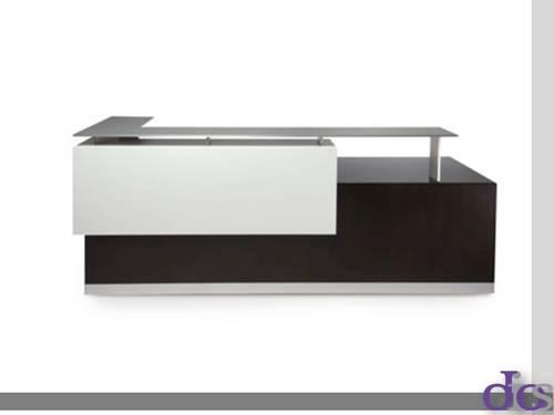 Amor L shape office reception table