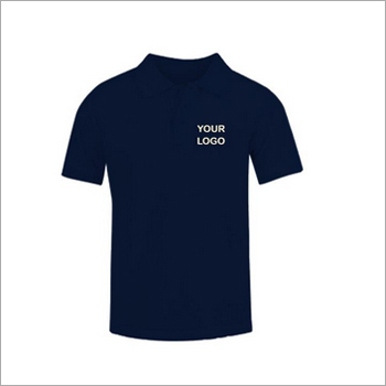 True Navy Cotton Round Neck T-Shirt