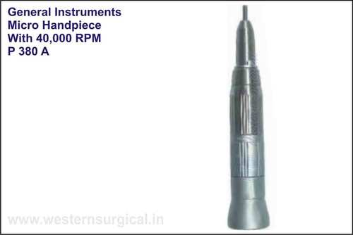 Micro Straight Handpiece With 40000 Rpm