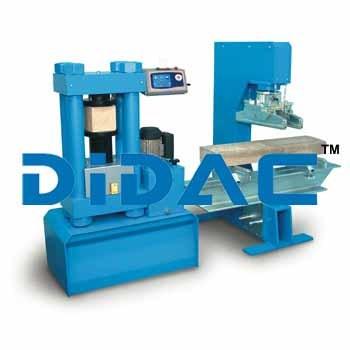Flexural Testing Machine 150kN Digital Model Open Side Frame
