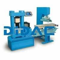 Flexural Testing Machine 150kN Digital Model Open Side Frame