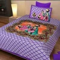 Jaipuri Printed King Size Bedsheet