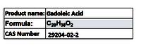 Gadoleic Acid