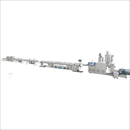 Solid Wall Poly Pipe Extrusion Line