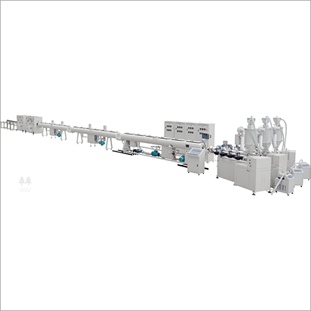 Fiber reinforced polypropylene (PP-R) composite pipe production line