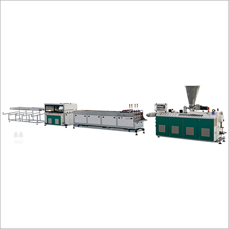 Polyvinyl Chloride Four (PVC) Pipe Production Line