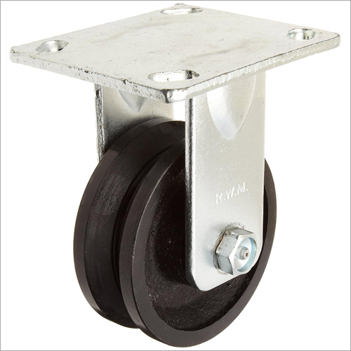 Track Wheels With Square Groove
