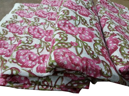 Hand Block Print Cotton Fabric
