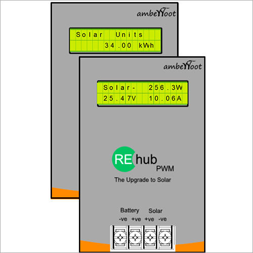 Re-hub Upgrade To Solar Charge Controller Panel