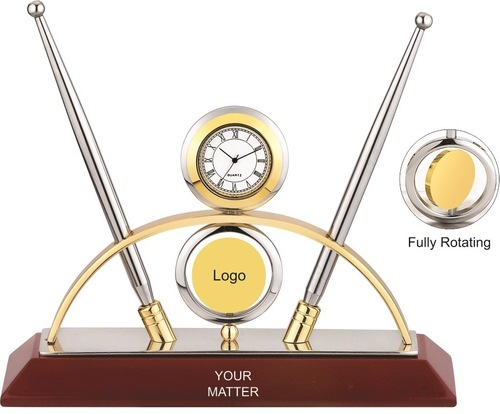 Revolving Watch & Pen Stand