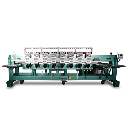 Computerized Multi-heads Cap  Tubular Embroidery Machine