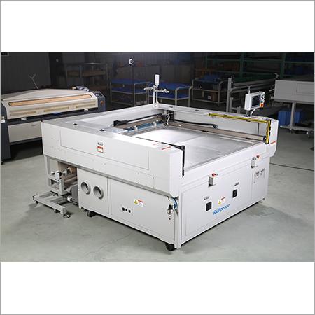 Laser Cutting Machine on Automotive Interiors
