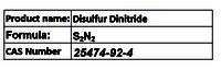 Disulfur Dinitride