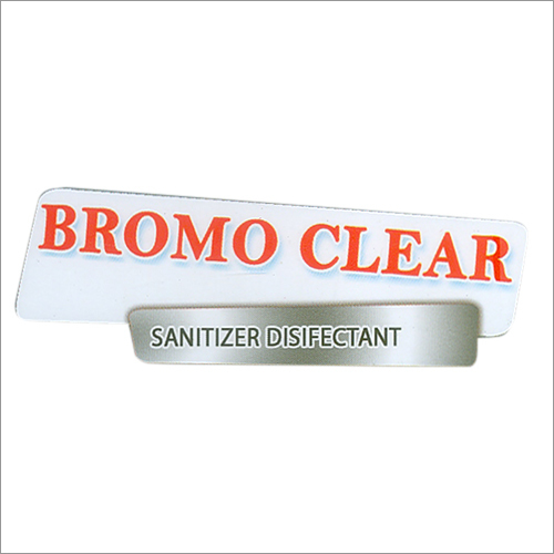 BROMO CLEAR (Water sanitizer)