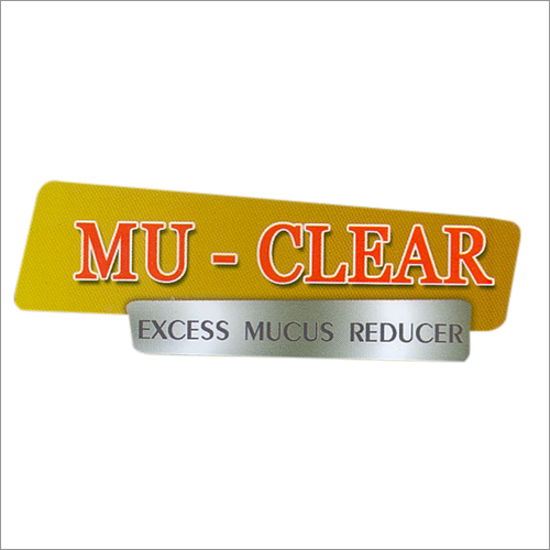 MU-CLEAR (for mucus)