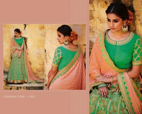 Shop Heavy Bridal Lehanga Online