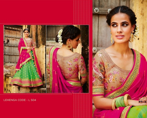 Buy Embroidered Lehanga Choli Online