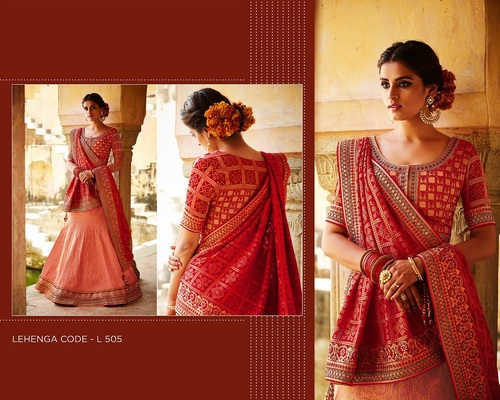 Buy Designer Lehariya Style Lehanga Choli Online