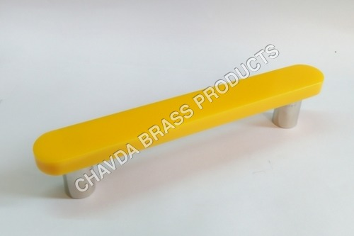 Yellow Acrylic Main Door Handle