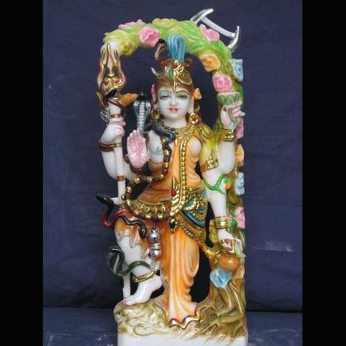 Marble Shiv Ardhnareshwar