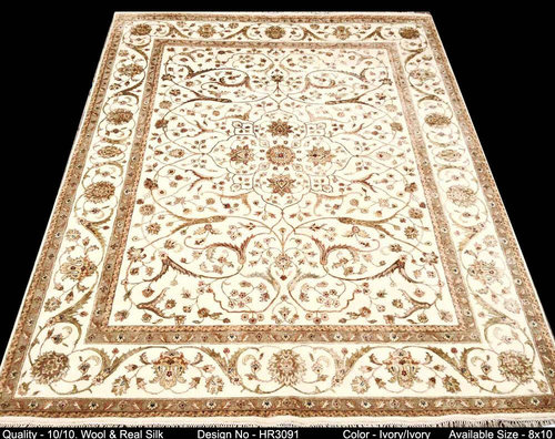 silk and wool rugs