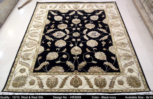 Athenic silk and wool rugs