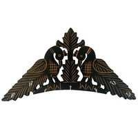 Desi Karigar Handmade Wooden Key Hanger Holder Wall Decor Peacock