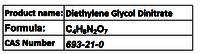 Diethylene Glycol Dinitrate