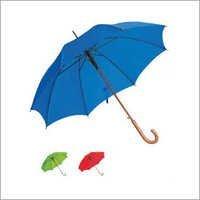 Wooden Shaft Straight Umbrella