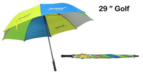 Golf Umbrella-Fiber Hnd Opn