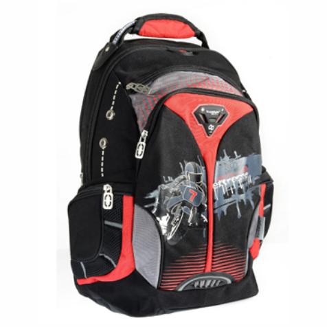 Bagpack (Red & Black)