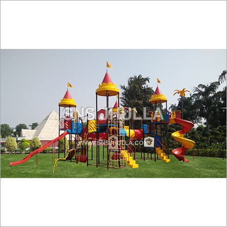 Multi Play System with Tunnel and Slide