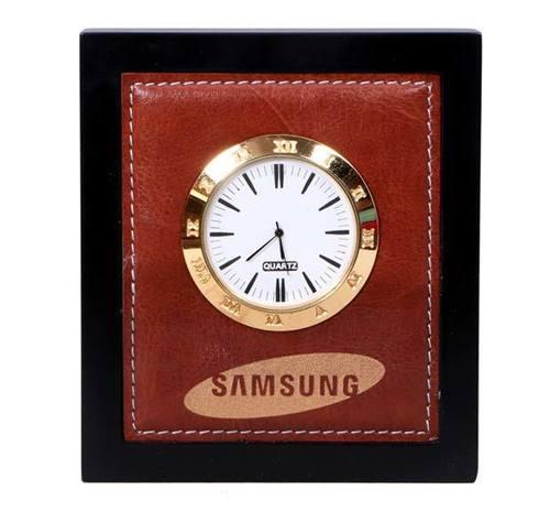 Samsung Wooden Clock