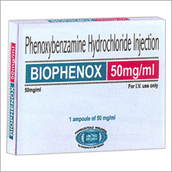 Phenoxybenzamine Hydrochloride Injection 50mg/ml