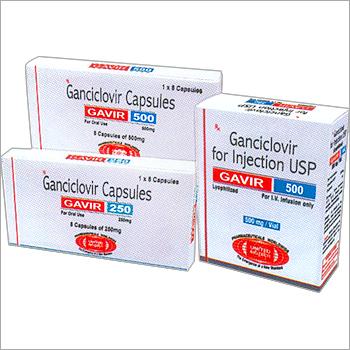 Ganciclovir Capsules 250mg/500mg