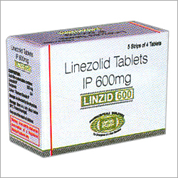 Linezolid Tablets IP 600 mg