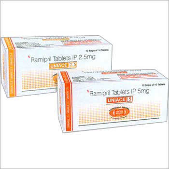 Ramipril Tablets IP 2.5mg/5.0mg