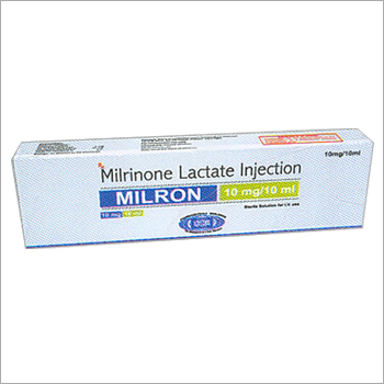 Milrinone Lactate Injection 10mg / 10ml