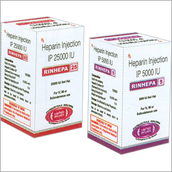 Heparin Injection IP 5000 IU/25000 IU