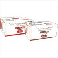 Mycophenolate Mofetil Tablets USP 250mg & 500mg