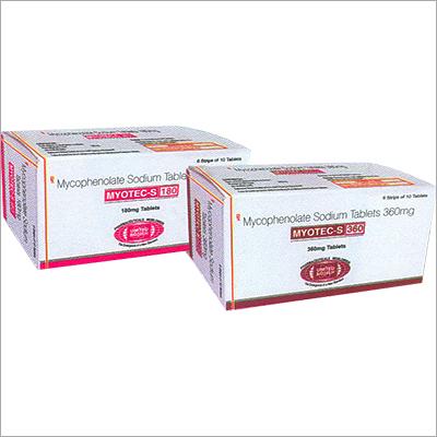 Mycophenolate Sodium 180mg & 360mg Tablets