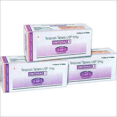 Terazosin Tablets USP 1mg, 2mg & 5mg