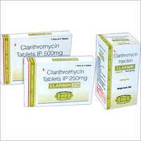 Clarithromycin Tablets IP 250mg/500mg