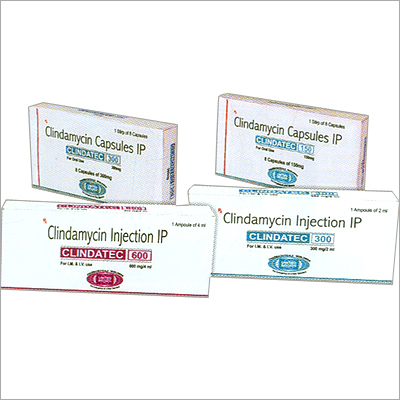 Clindamycin Capsules IP 150mg/300mg